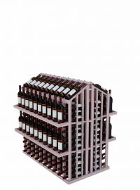 Wine Display Island with Four Display Shelves - Commercial Series