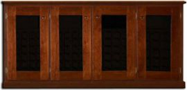 Legacy Wine Credenza 4-Door Double