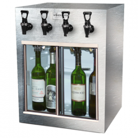 Winekeeper - Monterey 4 Bottle (Stainless Steel)
