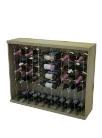 3 Ft. - Vintner Contemporary Cable Racking with 6 Columns of Individual