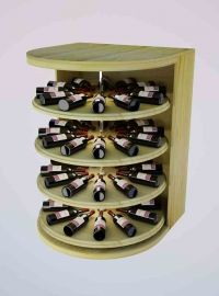 4 Ft. -  Rotating Wine Cradle