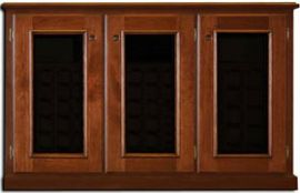 Legacy Wine Credenza 3-Door Double