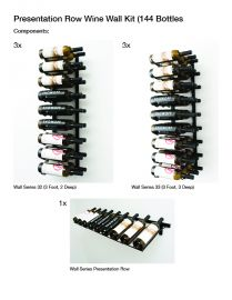 VintageView - W Series Presentation Row Wine Display Kit