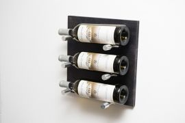 VintageView - Label Out: Metal and Wood Wine Rack Panel Kit Grain & Rod