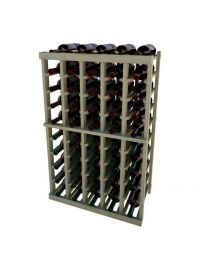 3 Ft. -  Individual Bottle Wine Rack - 5 Columns