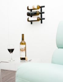 VintageView - W Series 1′ Wall Mounted Metal Wine Rack