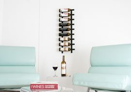 VintageView - W Series 3′ Wall Mounted Metal Wine Rack