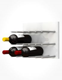Ultra - Fusion Wine Wall Panel—White Acrylic (9 Bottles)
