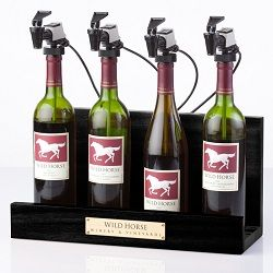WineKeeper 4 Bottle Showcase (Black)