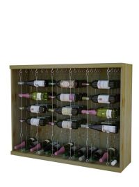 Vintner Contemporary Cable Racking with 3 Display Rows