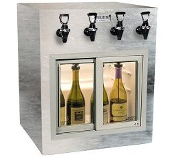 Winekeeper - Monterey ETL 4 Bottle (Stainless Steel)