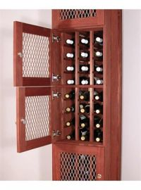 Solid Back Panel for Wine Locker - Commercial Series