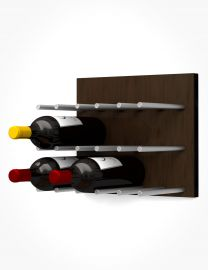 Ultra - Fusion Wine Wall Panel—Dark Finish (9 Bottles)