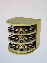 3 Ft. -  Rotating Wine Cradle