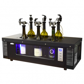 WineKeeper 6 Bottle Wine Tasting Station with Chiller #19461