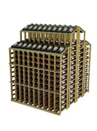 Vintner Commercial Double Deep Island with Individual Bottle Rails - Commercial Series