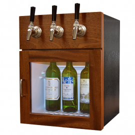 Winekeeper - Napa 3 Bottle (Mahogany)