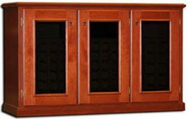 Legacy Wine Credenza 3-Door Single