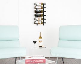 VintageView - W Series 2′ Wall Mounted Metal Wine Rack