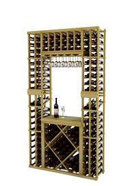 7 Ft. - Vintner Series - Individual Tasting Center with Displays and Open Diamond Bin