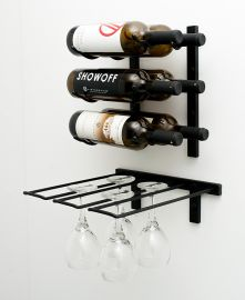 VintageView - Stemware Rack (2 to 6 wine glass capacity)