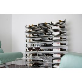 VintageView - Evolution Series 4 Metal and Acrylic Wine Tower (81 to 324 bottles)