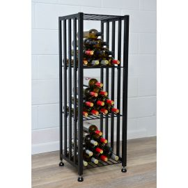 VintageView - Case & Crate Bin Short Freestanding Wine Rack Kit (48 – 192 Bottles)