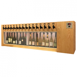 Winekeeper - Magnum 16 Bottle (Oak) Dual Zone