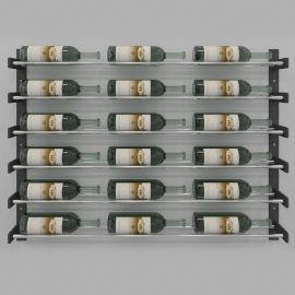 VintageView - Evolution Series Wine Wall 30″ Wall Mounted Wine Rack (18 to 54 bottles)