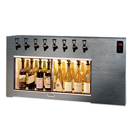 WineKeeper - Magnum 8 Bottle (Special Laminate) Dual Zone
