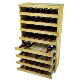 4 Ft. -  Pull Out Wine Bottle Cradle