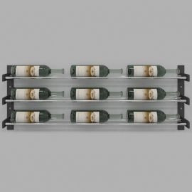 VintageView - Evolution Series Wine Wall 15″ Wall Mounted Wine Rack (9 to 27 bottles)