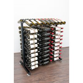 VintageView - 180-Bottle Island Display Rack 3
