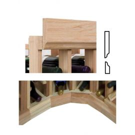 Curved Section of Vintner Series Molding