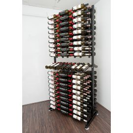 VintageView - 288-Bottle Island Display Rack 7
