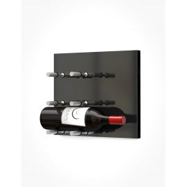 Ultra -  Fusion Wine Wall Panel—Black Acrylic (3 to 9 Bottles)