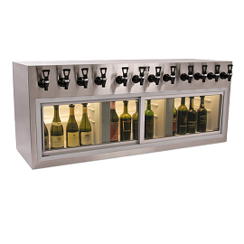 Winekeeper Monterey ETL 12 bottle Aluminum