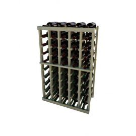 3 Ft. -  Individual Bottle Wine Rack - 5 Columns - Vintner Series