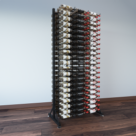 VintageView - 378-Bottle Island Display Rack 7 DLX