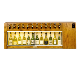 Winekeeper - Magnum 12 Bottle (Oak) Dual Zone