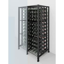 VintageView - Case & Crate Bin Extension Units (adds 48 bottles)
