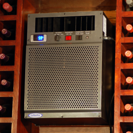 CellarPro 6200VSI Cooling Unit Installed