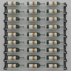 VintageView - Evolution Series Wine Wall 45″ Wall Mounted Wine Rack
