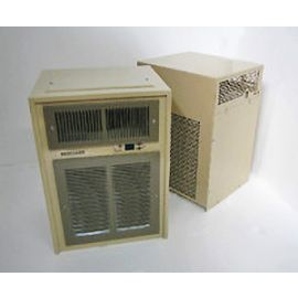 Breezaire WKSL4000 Evaporator Coil (left) & Condensor (right)