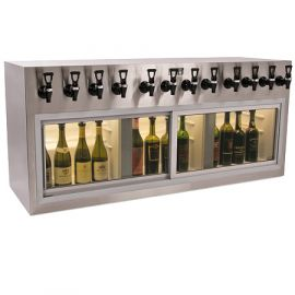 Winekeeper Monterey ETL 12 bottle Stainless Steel