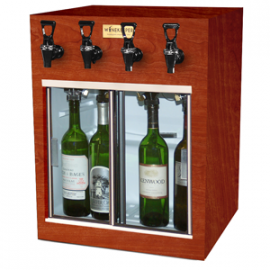 Winekeeper - Monterey 4 Bottle (Mahogany)