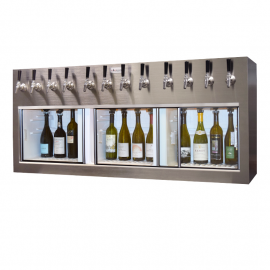 Winekeeper Monterey 12 bottle Stainless Steel