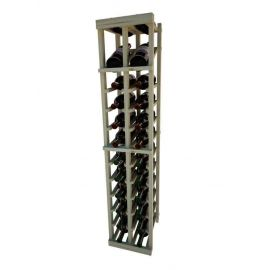 4 Ft. -  Individual Bottle Wine Rack - 2 Columns with Display - Vintner Series