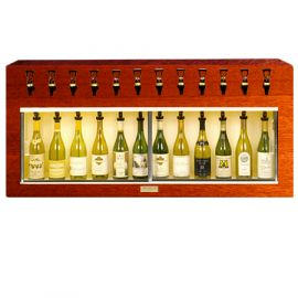 Winekeeper Monterey 12 bottle Mahogany