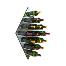 Ultra - Diamond Fusion Wine Rack Panel—Large (16 Bottles)
